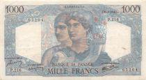 France 1000 Francs Minerve et Hercule - 21-02-1946 Série P.216 - TB