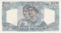 France 1000 Francs Minerve et Hercule - 21-05-1945 Série F.34 - SUP