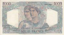 France 1000 Francs Minerve et Hercule - 22/11/1945 - Série X.135
