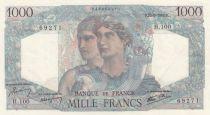 France 1000 Francs Minerve et Hercule - 23-08-1945 - Série H.100 - SUP