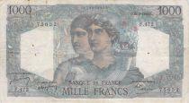 France 1000 Francs Minerve et Hercule - 26-08-1948 Série F.472 - PTTB