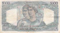 France 1000 Francs Minerve et Hercule - 26-08-1948 Série G.469 - TB+