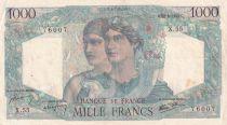 France 1000 Francs Minerve et Hercule - 28-06-1945 - Série X.55 - TTB