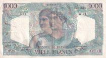 France 1000 Francs Minerve et Hercule - 31-05-1945 - Série W.24 - TTB