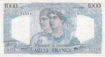 France 1000 Francs Minerve et Hercule -17-01-1946 Série O.175 - SUP