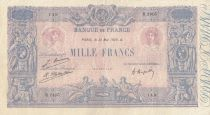 France 1000 Francs Pink and blue - 31-05-1926 Serial B.2405
