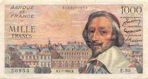 France 1000 Francs Richelieu - 01-07-1954 Série F.50 - TTB
