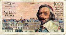 France 1000 Francs Richelieu - 01-07-1954 Série U.54 - TB