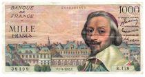 France 1000 Francs Richelieu - 01-09-1955 Série E.178 - TTB