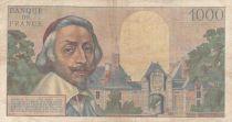 France 1000 Francs Richelieu - 02-06-1955 Série Q.170 - TB