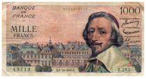 France 1000 Francs Richelieu - 04-10-1956 Serial Z.285 - VF