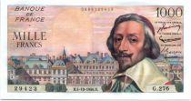 France 1000 Francs Richelieu - 04-10-1956 Série G.276