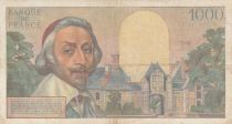 France 1000 Francs Richelieu - 04-10-1956 Série O.270 - TB