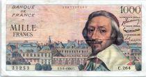 France 1000 Francs Richelieu - 05-04-1954 Série C.264