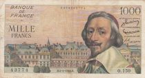 France 1000 Francs Richelieu - 05-05-1955 Série O.150 - TB