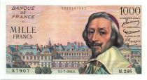 France 1000 Francs Richelieu - 05-07-1956 Serial M.266