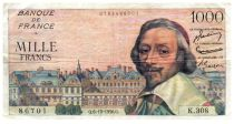 France 1000 Francs Richelieu - 06-12-1956 Série K.308 - TTB
