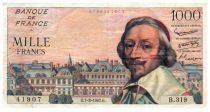 France 1000 Francs Richelieu - 07-03-1957 - B.319
