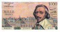 France 1000 Francs Richelieu - 07-03-1957 Série B.321 - TTB