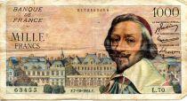 France 1000 Francs Richelieu - 07-10-1954 Série L.70 - TB+