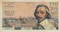 France 1000 Francs Richelieu - 1954