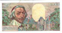 France 1000 Francs Richelieu - 1955