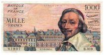 France 1000 Francs Richelieu - 1957-03-07 - B.319