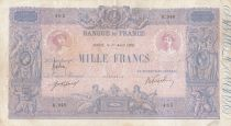 France 1000 Francs Rose et Bleu - 01-04-1916 - Série K.948 - TB