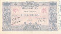France 1000 Francs Rose et Bleu - 01-06-1926 - Série L.2411 - PTTB