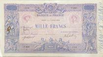 France 1000 Francs Rose et Bleu - 01-07-1914 - Série T.880 - TB+