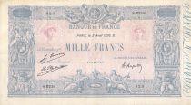 France 1000 Francs Rose et Bleu - 02-04-1926 - Série S.2218 - PTTB