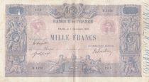 France 1000 Francs Rose et Bleu - 05-12-1919 - Série B.1370