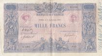 France 1000 Francs Rose et Bleu - 06-09-1919 - Série D.1294