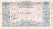 France 1000 Francs Rose et Bleu - 06-10-1925 - Série P.2048 - TTB