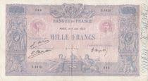 France 1000 Francs Rose et Bleu - 09-06-1922 Série S.1613