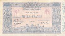 France 1000 Francs Rose et Bleu - 13-08-1925 - Série F.2003 - PTTB