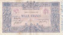 France 1000 Francs Rose et Bleu - 13-11-1919 - Série K.1351