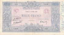 France 1000 Francs Rose et Bleu - 16-03-1926 - Série U.2180 - TTB
