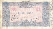 France 1000 Francs Rose et Bleu - 16-04-1926 Série N.2263