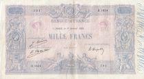 France 1000 Francs Rose et Bleu - 17-01-1923 - Série H.1634