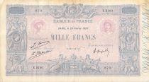 France 1000 Francs Rose et Bleu - 20-02-1926 - Série E.2160 - PTTB