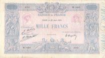 France 1000 Francs Rose et Bleu - 20-08-1923 - Série W.1681 - B+