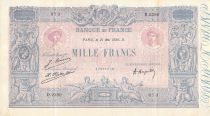France 1000 Francs Rose et Bleu - 21-05-1926 - Série D.2380 - TTB