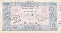France 1000 Francs Rose et Bleu - 22-09-1925 - Série Y.2036 - TTB