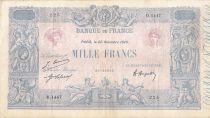 France 1000 Francs Rose et Bleu - 22-11-1920 - Série D.1447 - PTTB