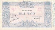 France 1000 Francs Rose et Bleu - 23-03-1925 - Série E.1885 - PTTB