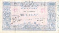 France 1000 Francs Rose et Bleu - 25-10-1924 - Série E.1762 - TB+