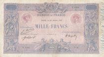 France 1000 Francs Rose et Bleu - 26-01-1921 - Série Y.1501 - TB