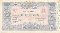 France 1000 Francs Rose et Bleu - 29-03-1926 - Série S.2201 - TB+