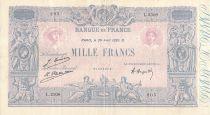 France 1000 Francs Rose et Bleu - 29-04-1926 - Série L.2308 - TTB